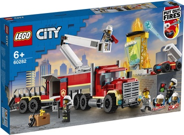 KONSTRUKT LEGO CITY FIRE COMM UNIT 60282