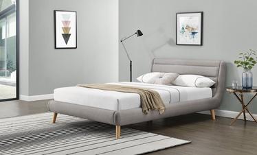 Halmar Elanda Bed 160x200cm Light Grey