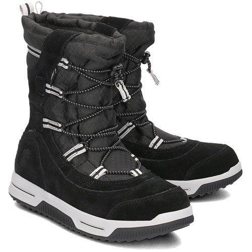 Timberland Snow Stomper Pull On WP A1UIK Black 37