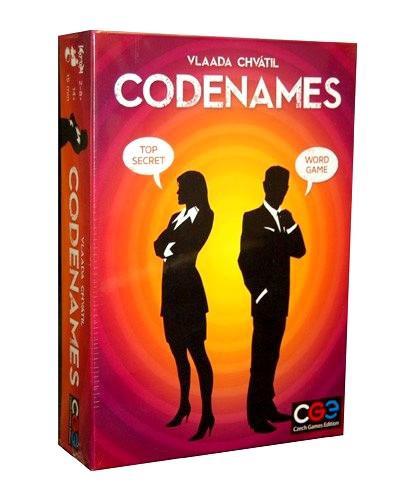 Stalo žaidimas Brain Games Codenames, LT