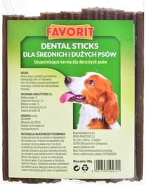Favorit Dental Sticks Medium & Large Dog Snacks 180g