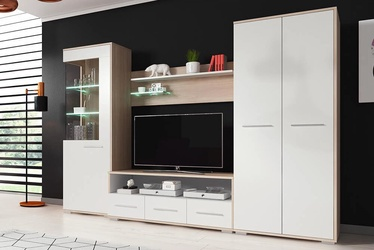 Idzczak Meble Frida Wall Unit White/Sonoma Oak
