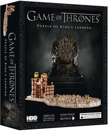 3D пазл CubicFun Game Of Thrones 3D DS0987H, 262 шт.