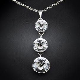 Diamond Sky Pendant Bijoux Vortex IV With Swarovski Crystals