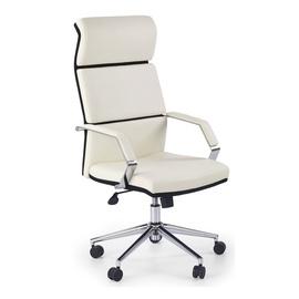 Biroja krēsls Halmar Costa, balta/melna