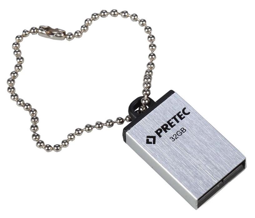 Pretec 32GB i-Disk Elite USB 2.0 Silver