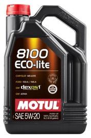 Motoreļļa Motul 8100 Eco-Lite 5W - 20, sintētiskais, vieglajam auto, 5 l