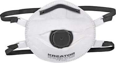 Kreator KRTS1003V Dust Mask FFP3 with Valve 2pcs