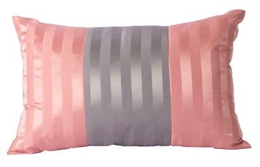 Home4You Grey & Rose Pillow 60x40cm