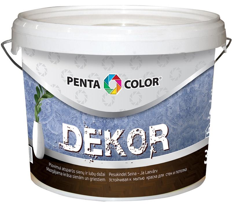 Pentacolor Dekor Emulsion Paint White 3l