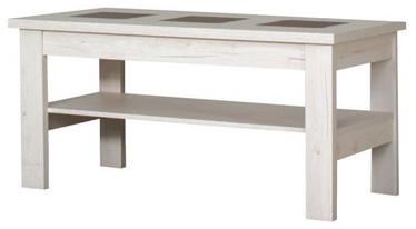 Kafijas galdiņš Bodzio S29 Pearl Sonoma Oak, 1200x600x590 mm