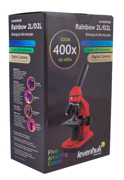 Levenhuk Rainbow D2L Digital Microscope Moonstone