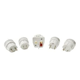 DPM Travel Adapter Set EU/USA/UK/AUS 10A 250V 3P
