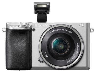 Sony A6400 E-Mount Camera + 16-50mm OSS Silver