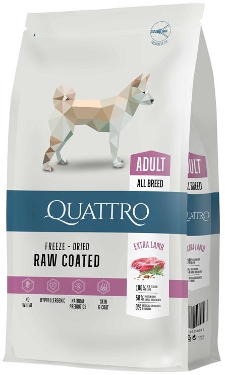 Pašaras Quattro sausas šunims su ėriena ir ryžiais 12kg