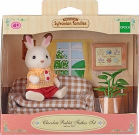 Epoch Sylvanian Families Chocolate Rabbit Father Set 2201