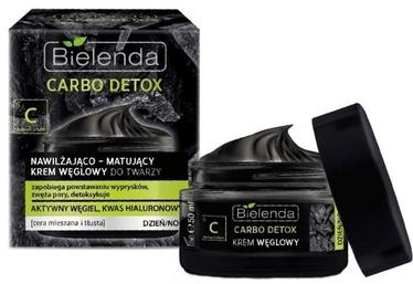 Bielenda Carbo Detox Face Cream 50ml Moisturizing & Mattifying