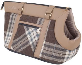 Soma Amiplay Kent Pet Carrier Bag L 42x26x30cm Beige