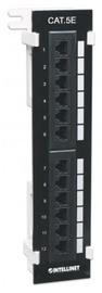 Intellinet Patch Panel UTP CAT 5e RJ45 x 12 Black