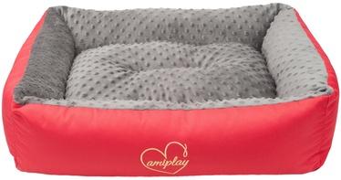 Лежанка Amiplay Babydoll Sofa L 78x64x19cm Gray