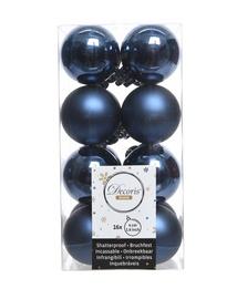 Eglutės žaisliukas 021801 Blue, 40 mm, 16 vnt.
