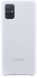 Nugarėlė silikoninė Samsung A71 White