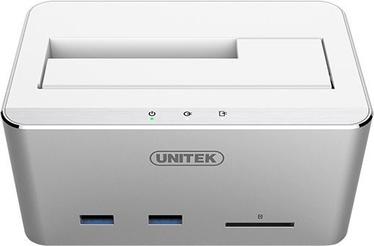 Unitek Y-1092 USB 3.0 Multifunctional Docking Station Silver