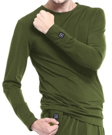 Glovii Heated Sweatshirt XL Green