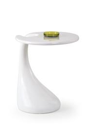 Kavos staliukas Viva baltas, 45 x 45 x 57 cm