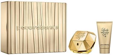 Набор для женщин Paco Rabanne Lady Million 50 ml EDP + Body Lotion 75 ml