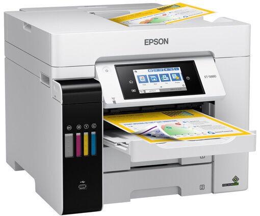 Многофункциональный принтер Epson EcoTank ET-5880, струйный, цветной