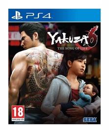 Игра для PlayStation 4 (PS4) Yakuza 6: The Song of Life PS4