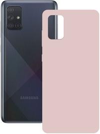 Ksix Silk Back Case For Samsung Galaxy A71 Pink