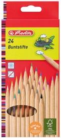 Herlitz FSC Natural Coloured Pencils 24-Pieces 08660524
