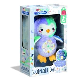 Pliušinis žaislas Clementoni Night Owl Light up 17268, įvairių spalvų, 32 cm