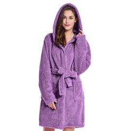 Халат DecoKing Sleepyhead, фиолетовый, XXXL