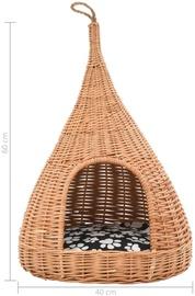 Домик для животных VLX Willow, кремовый, 400 мм x 400 мм