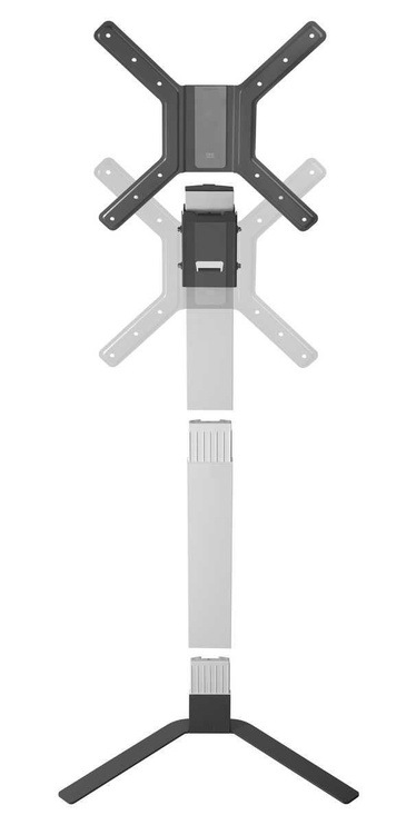 """One For All WM6471 32-60"""" Floor Stand Black/Grey"""