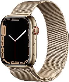 Nutikell Apple Watch Series 7 GPS + LTE 45mm Stainless Steel, kuldne