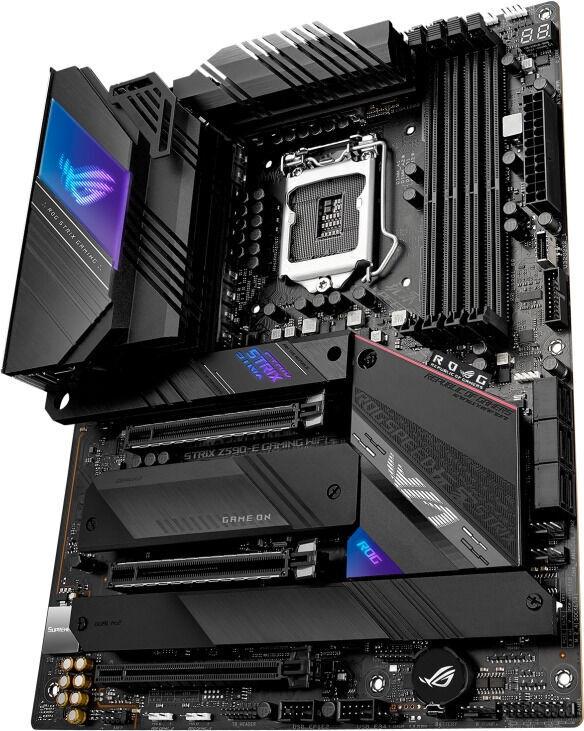 Mātesplate Asus ROG Strix Z590-E Gaming WiFi