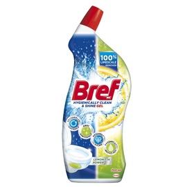 Unitazų gelis Bref Higienically Clean & Shine Lemonitta Power, 0,7 l