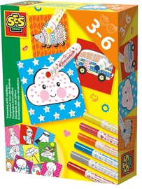 Antspaudukai SES Creative Stamping With Markers 14896