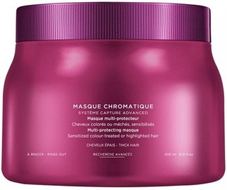 Kaukė plaukams Kerastase Reflection Chromatique Multi-Protecting Mask Thick Hair, 500 ml
