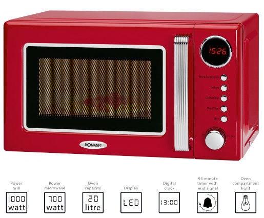 Bomann MWG 2270 CB Red