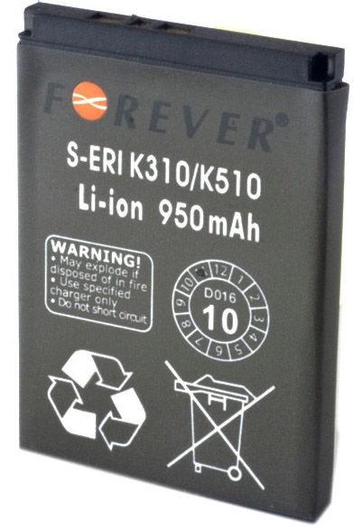 Батарейка Forever, Li-ion, 950 мАч