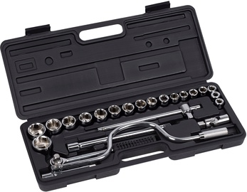 "Kreator KRT500104 Socket Set 1/2"" 24pcs"