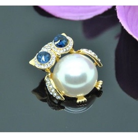 Vincento Brooch With Zirconium Crystal LD-1108