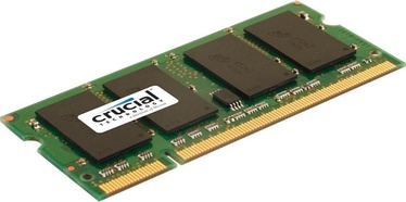 Crucial 2GB DDR2 PC2-6400 CL6 SO-DIMM CT25664AC800