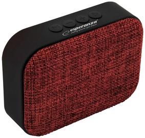 Belaidė kolonėlė Esperanza Samba Bluetooth Speaker Red