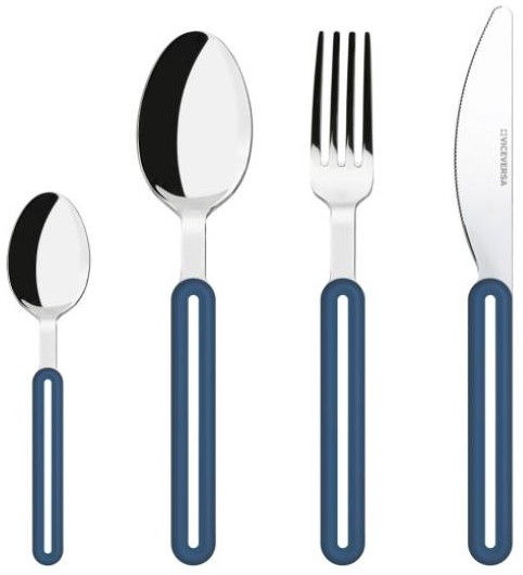 ViceVersa Offset Cutlery Set 24 Blue